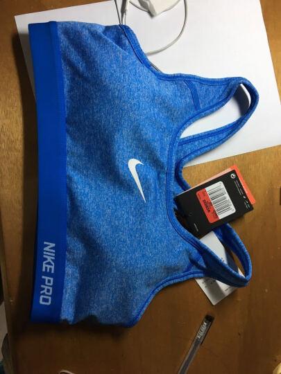 耐克女子紧身运动运动胸衣Nike Pro bra 春夏新款训练背心运动背心内衣589423 [仅剩M]浅相片蓝806362-435 M 晒单图