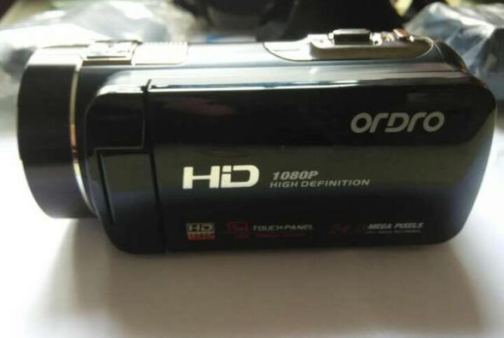 欧达Z8摄像机数码DV全高清闪存双重五轴防抖红外遥控2400万像素16倍变焦家用旅游 黑色 京东送货+32G卡+电池 送大礼包 晒单图