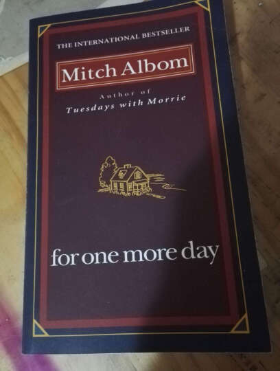 一日重生 For One More Day 米奇·阿尔博姆 Mitch Aibom 晒单图