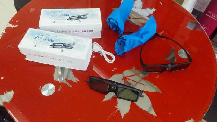 宏影(HONGYING)3D快门眼镜 投影仪主动式3D眼镜 投影机3D电影 晒单图
