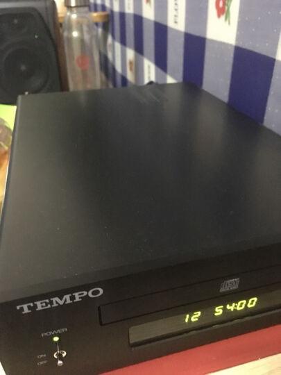 山灵(SHANLING) 山灵 EC1B 发烧迷你CD播放机 HIFI音响 桌面CD音响转盘U盘输入 黑色 晒单图