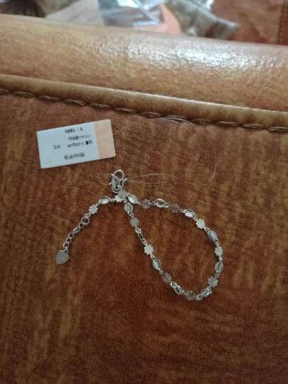 钻石小鸟 Zbird PT950铂金手链-女款铂金时尚潮流配饰-花之海 晒单图