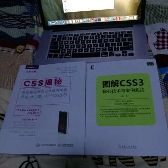 图解CSS3:核心技术与案例实战+CSS揭秘 全新解答网页设计经典难题 晒单图