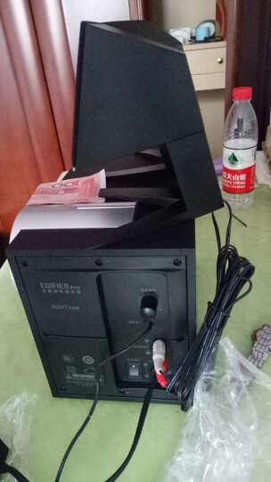 漫步者(EDIFIER) R201T北美 2.1声道 多媒体音箱 音响 电脑音箱 黑色 晒单图