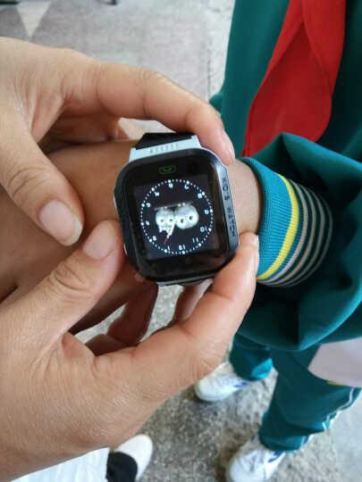半兽人 儿童电话手表学生定位智能手表手机可插卡生活防水 触屏版蓝色 晒单图