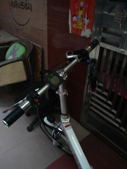 沃普顿(Wopudun) 沃普顿16寸电动自行车 亲子外卖电瓶车 电动车 锂电助力车真空轮胎 外卖款玫瑰金(12A)+遥控 晒单图