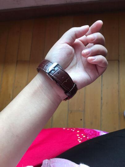 绿茵手表 男表  全自动机械表多功能运动休闲简约腕表 韩版商务潮流防水男士手表 B女款图片色 晒单图
