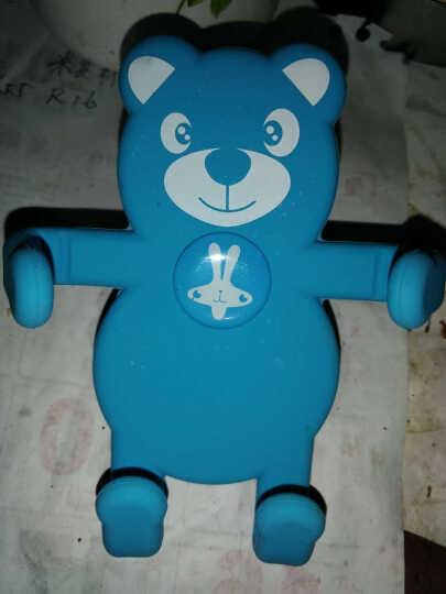 轩之梦汽车车载手机支架GPS导航仪架手机架夹汽车用品 天蓝色抱抱熊 晒单图