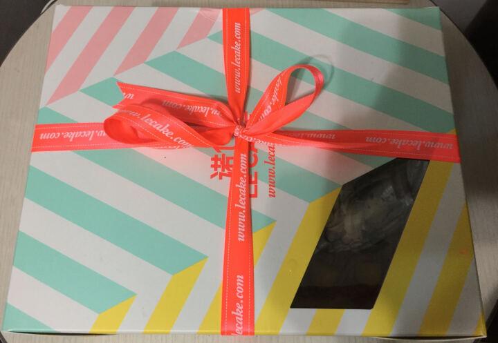 诺心 LECAKE 核桃栗子蛋糕 生日蛋糕 2磅 晒单图