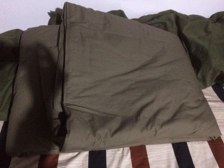 际华营地 标准单人被1.5m*2.1m 军绿色棉被 野营用品 9709陆空棉被 军训被褥 军迷用品 9709热熔棉被 晒单图
