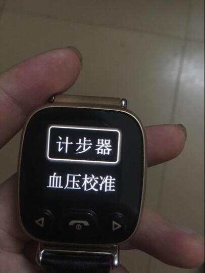 keke 老人智能手表电话定位心率血压监测手表手机防走失GPS儿童定位器远程监控通话手环 老人表-深邃黑 晒单图