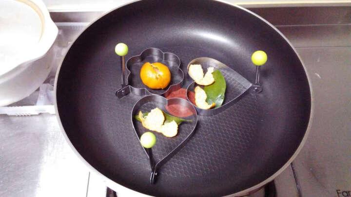 红兔子 不锈钢多种形状煎蛋器 爱心早餐煎蛋模具四件套 晒单图
