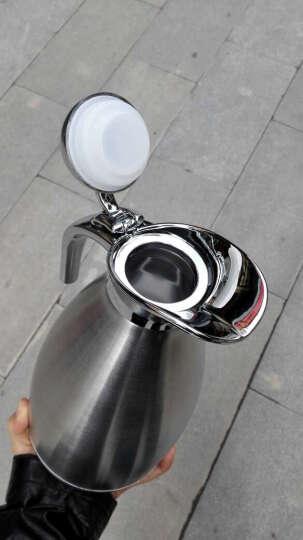 维艾(Newair) 保温壶家用保温瓶热水瓶暖壶304不锈钢保温水壶开水瓶 304内胆-象牙白 2L 晒单图