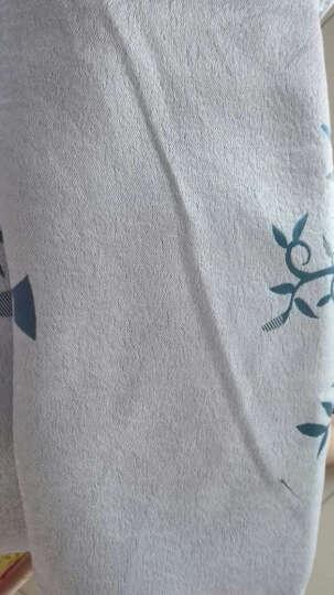 魔方 窗帘成品现代简约北欧风遮光布纱帘挂钩定制欧式客厅卧室*玉树临风 玉树临风-雅致蓝布(可改高) 2.0宽*2.1高-布带挂钩(1片) 晒单图