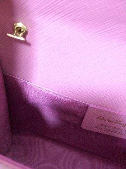 Salvatore Ferragamo 菲拉格慕 女士裸粉色牛皮蝴蝶结时尚单肩包 22B558 0548912 晒单图