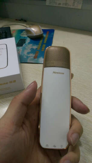纽曼(Newmine)T-MIC-01 中国新歌声专享定制 手机麦克风唱吧全民k歌主播直播专用话筒 苹果安卓电容麦 晒单图