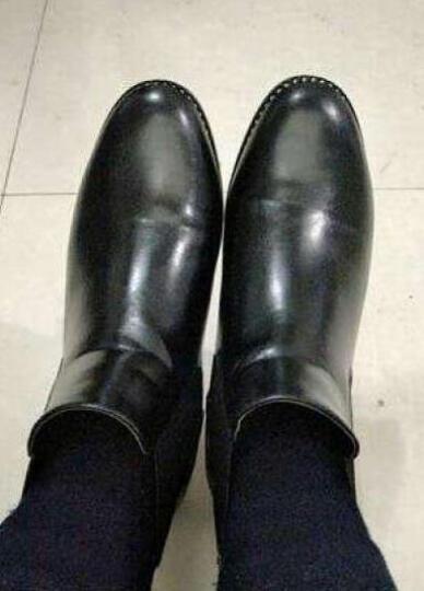 卡芭斯春季新款中跟包头单鞋尖头高跟鞋粗跟水钻侧空时尚女鞋一字扣性感浅口鞋子 白色 38 晒单图