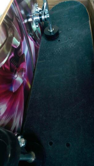 陆艇滑板四轮成人专业双翘儿童滑板车公路男女新手初学者青少年 专业加拿大枫木滑板男音+礼包 晒单图