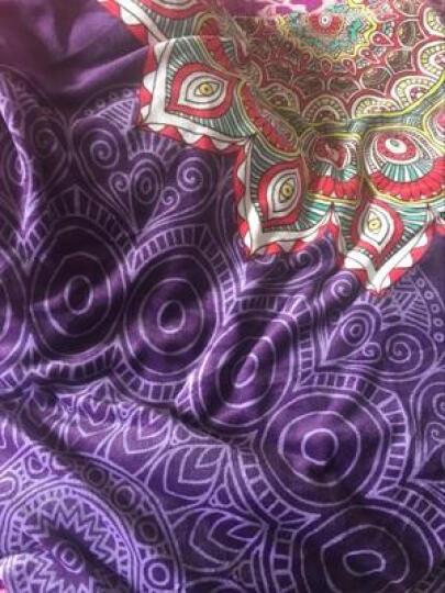众派国际家纺 法莱绒四件套保暖加厚冬天双面珊瑚绒加大被套床单床上用品 天使之心-玫红 适合1.8米-2.0米宽床适用 晒单图