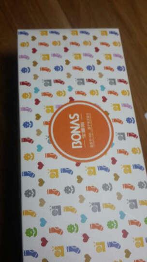 宝娜斯(BONAS)儿童袜子男童女童宝宝棉袜秋冬季保暖袜子5双装  4-6岁  QD15-6 晒单图