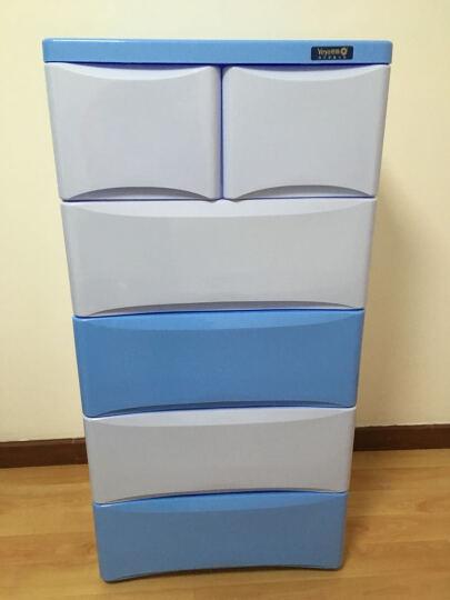也雅塑料收纳柜儿童衣物整理箱储物盒五层安装需要和