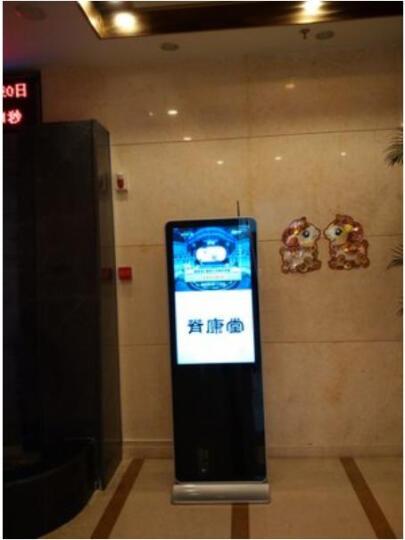 音悦台 42英寸立式广告机 LED商业显示屏 网络触控一体机 播放器 网络安卓版-触控 晒单图