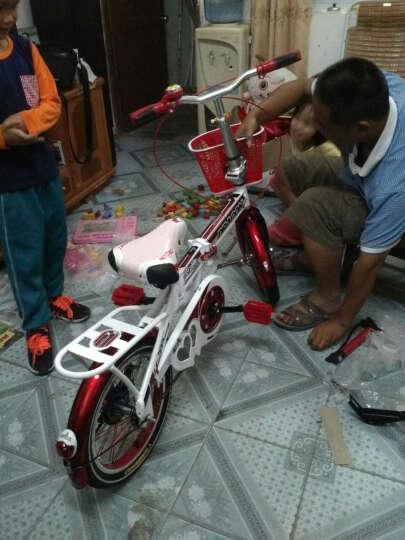 宝贝龙 小孩子儿童自行车知更鸟儿童折叠自行车学生小孩子12/16寸便携单车童车多省包邮 知更鸟红色带辅助轮 16 晒单图