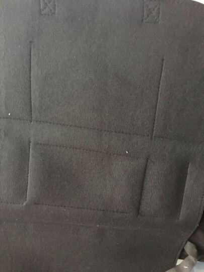 易锐车品皮革汽车座椅收纳袋储物袋背椅座椅挂袋置物袋车载防踢垫防护垫车内饰品装饰汽车用品超市 B米色标准款带雨伞袋 皮革材质 晒单图