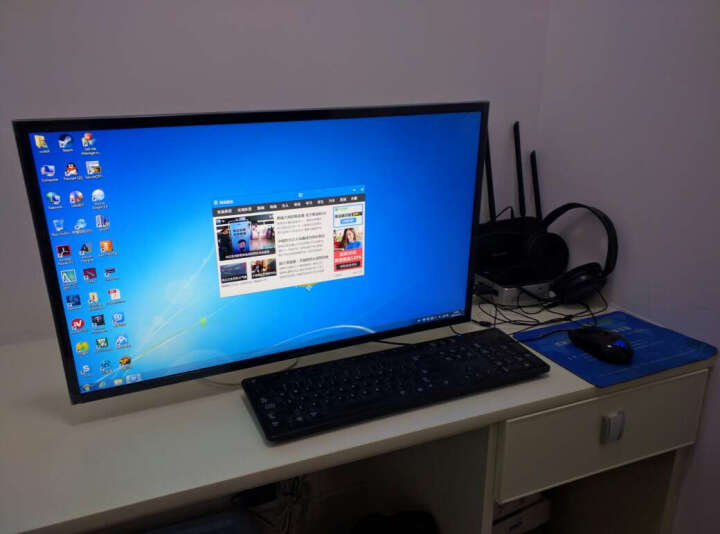 NB F120 (17-27英寸) 液晶电脑显示器支架桌面多功能旋转壁挂显示器支架底座自由升降伸缩架 银色 晒单图