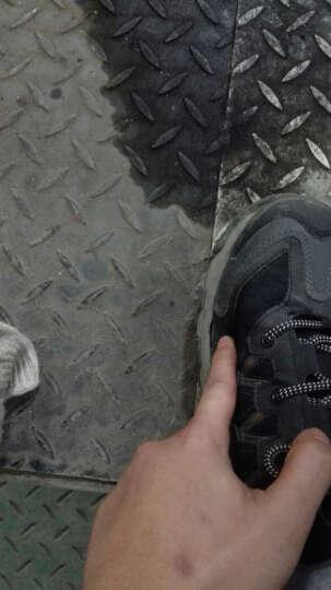 MODYF劳保鞋男 春夏钢包头 舒适安全鞋 预防砸防刺穿透气工作鞋老保鞋 黑灰11(皮鞋码) 43 晒单图