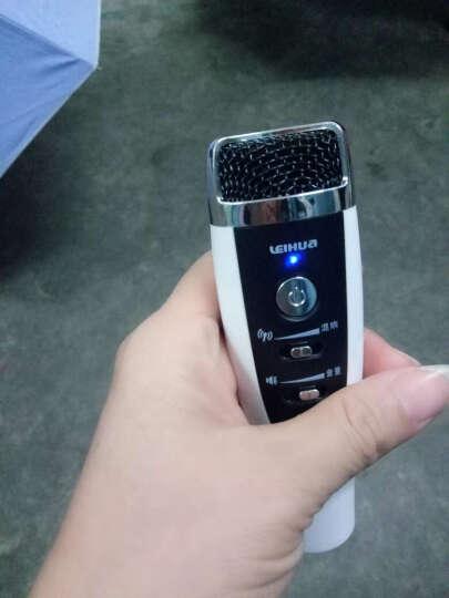 apphome 苹果安卓手机无线麦克风话筒手机K歌专用电容麦唱吧话筒 玫瑰金 晒单图
