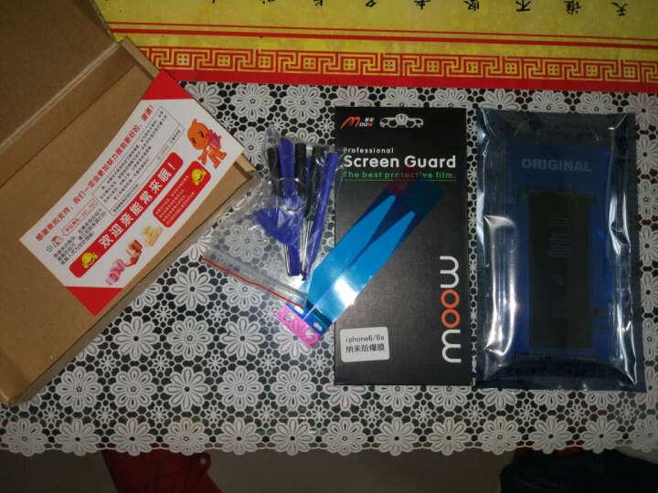 SHAOKE手机内置电池 适用于苹果iPhone6/6s/5/5s/4s/PLUS代 iphone6S PLUS电池+拆机工具套装 晒单图