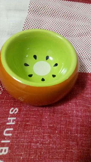 艾妮斯 金丝熊仓鼠食盆 小动物食物碗 陶瓷饲料盒 仓鼠用品 防摔防啃防 AE160 晒单图