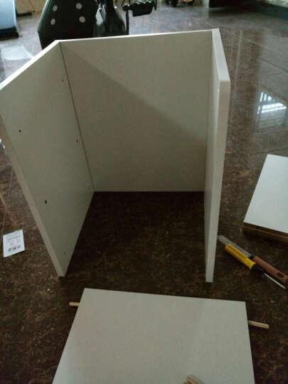 哈骆顿(HALODN)床头柜 简约现代收纳柜储物床头卧室置物柜创意文件柜小柜子 床边柜 BT014暖白色 组装 晒单图