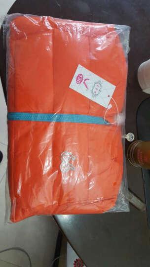 富碧源童装男女儿童羽绒服纯色休闲保暖外套 橘色 吊牌130(适合身高120-130CM) 晒单图