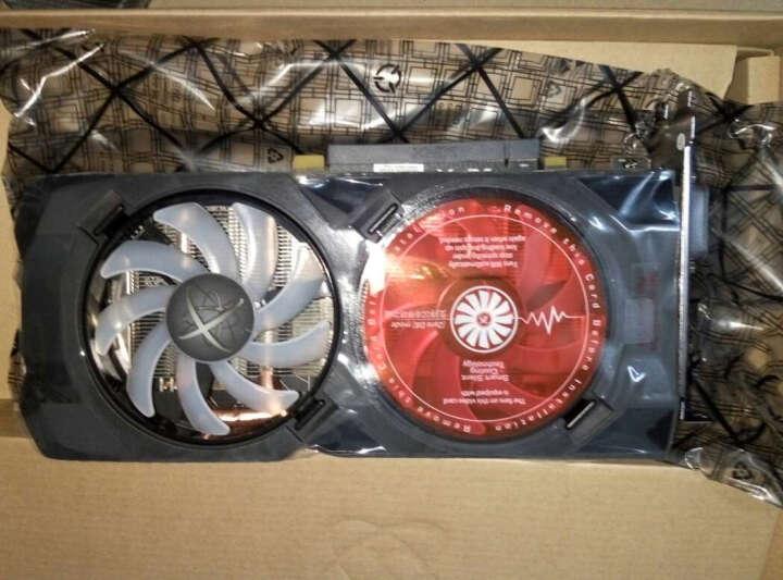 讯景(XFX)RX 470 4G 深红版 1280MHz/7GHz 256bit GDDR5 显卡 晒单图