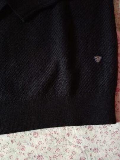 七匹狼羊毛衫毛衣男士秋冬新款时尚百搭多彩针织衫商务休闲男装1593 V领-503紫色 175/92A(XL) 晒单图