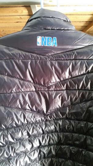 NBA 勇士马刺火箭快船 携带式轻薄羽绒服保暖 YX0006AA 公牛队 XL 晒单图