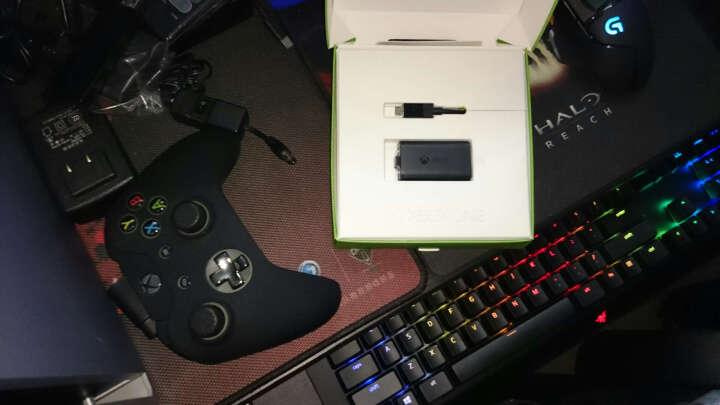 【原装配件】微软(Microsoft)Xbox One 同步充电套组(手柄电池和充电线) 晒单图