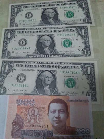 金永恒   全新美元 美利坚合众国美元  美金美国纸币 外国钱币 2美元2009年杰斐逊 十连号 晒单图