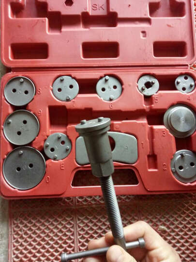 碟式刹车分泵调整组/刹车片拆装工具/碟式刹车分泵工具汽车维修工具 12件组套 晒单图