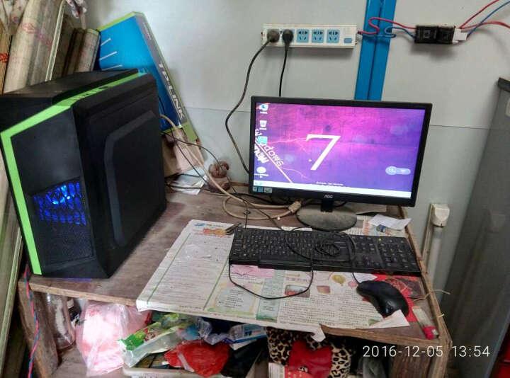 铭速酷睿i5/8G/GTX1050独显高端游戏四核主机电脑整机吃鸡绝办公商务台式机 预见N53送键鼠三个耀光风扇 i5/8G/1T/GTX1050独显2G 晒单图