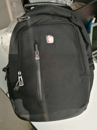 SWISSGEAR电脑包 时尚休闲14.6英寸双肩包笔记本电脑包背包书包男 SA-7050黑色 (内有ipad专用层) 晒单图