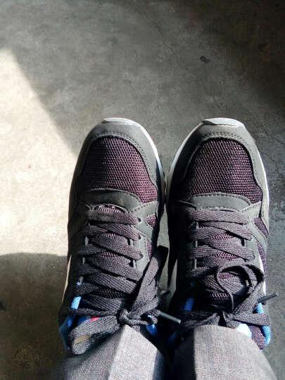 瑞士MATEHOM跑步鞋休闲鞋 男士新款气垫缓震透气舒适耐磨运动鞋男鞋 M377-黑色 42 晒单图