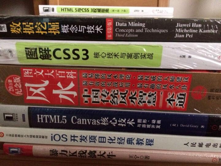 HTML5 Canvas核心技术:图形、动画与游戏开发 晒单图
