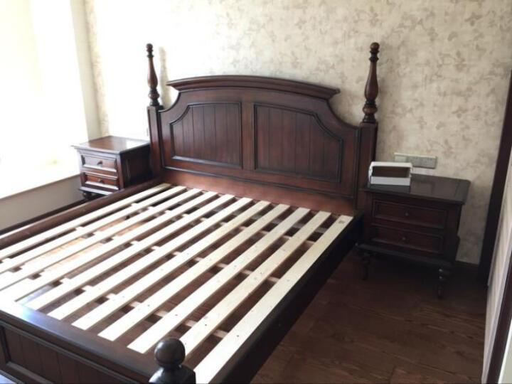 巢趣床实木床卧室家具欧式床双人床1