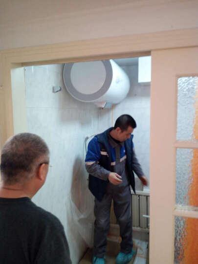 海尔(Haier)80升电热水器 变频加热遥控预约 一级能效节能 专利2.0安全防电墙EC8002-D 晒单图