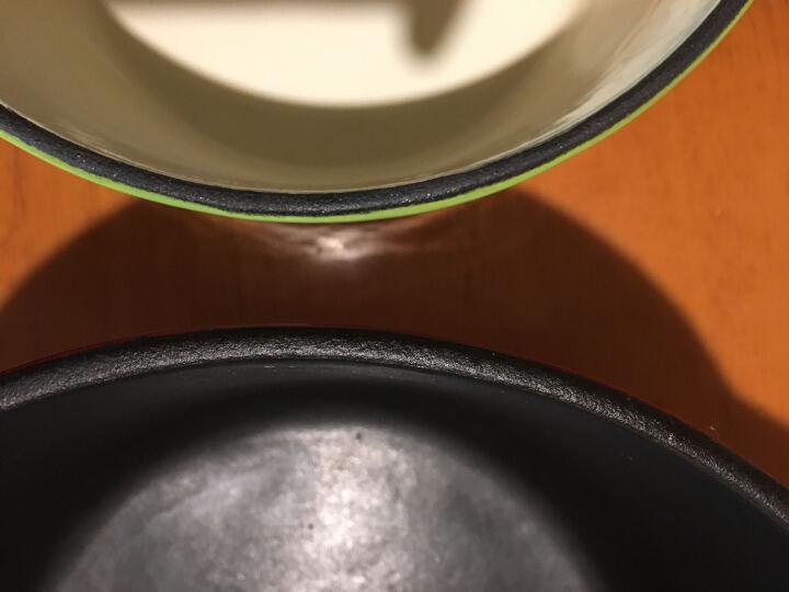 意彩(ecohouse)铸铁锅经典电磁炉炖锅珐琅汤锅24 厨房搪瓷锅家用焖烧锅 意彩厨具 马赛蓝 24CM 晒单图