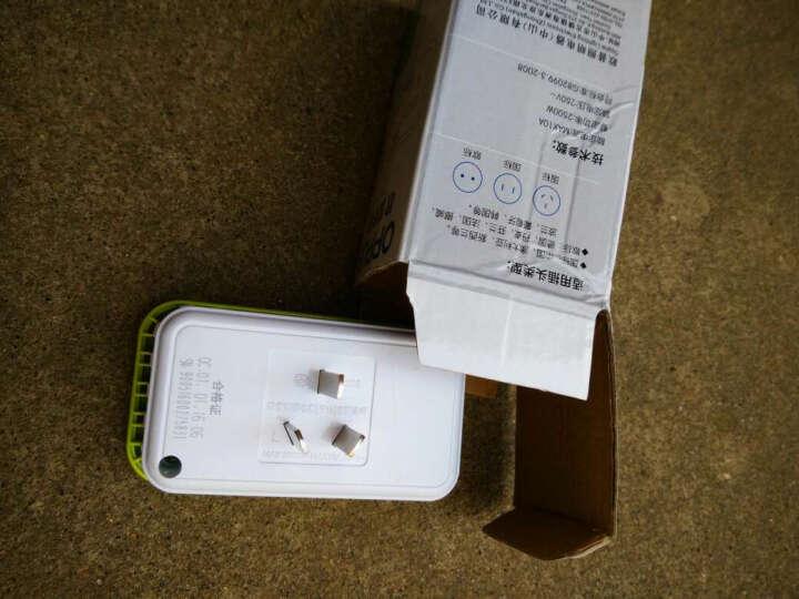 OPPLE 排插 转换插头电源插座转换器 一转多扩展 二个五孔二个USB 晒单图