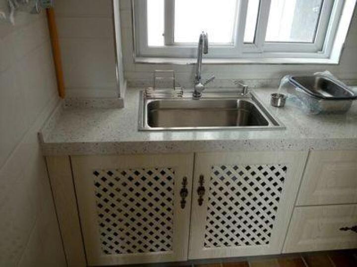 现代(MODERN) 现代304不锈钢厨房水槽单槽套餐水槽单槽 A101(56) 晒单图